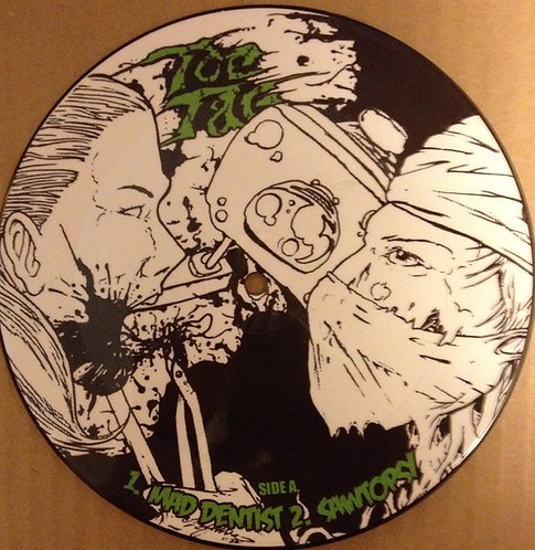 "Toe  Tag / Potbelly ""Spilt"" picture disc 7"""