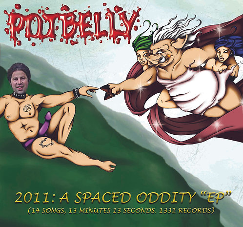 "Potbelly - ""2011: A Spaced Oddity""  CD"