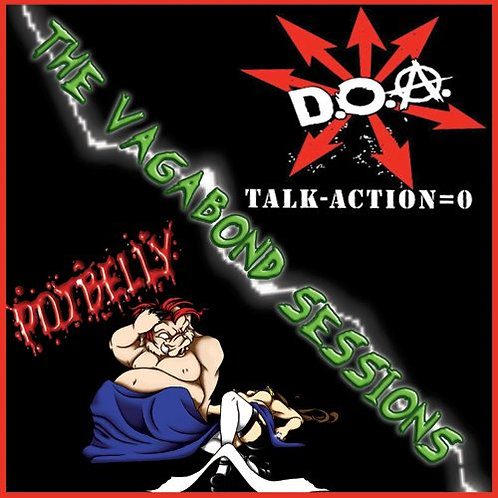 "DOA / Potbelly ""The Vagabond Sessions"" Split 12"""
