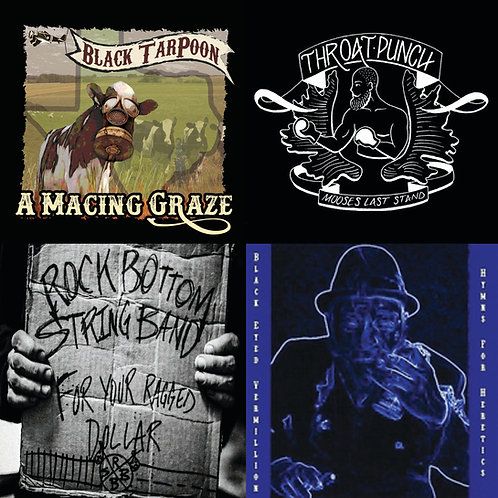 """Texas Triple Threat"" - 4 CD's from Texas artists"