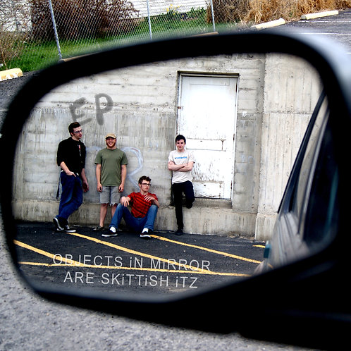 """Skittish Itz - """"Objects in Mirror are...""""  CD"""