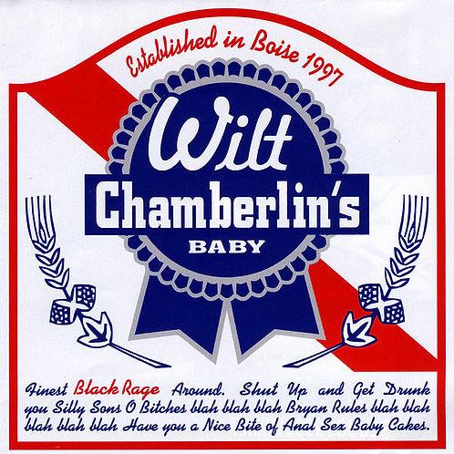 """Wilt Chamberlain's Baby - """"Black Rage"""" CD"""