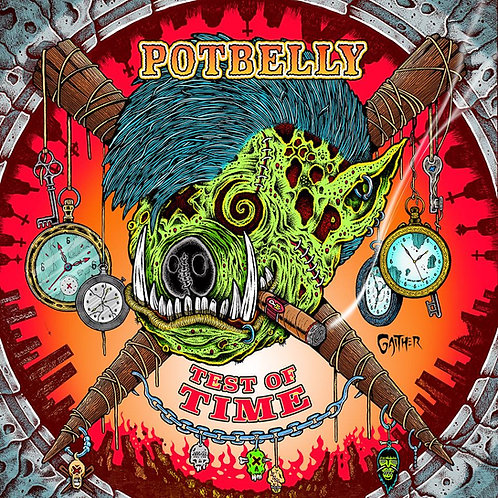 "Potbelly - ""Test Of Time"" - CD"