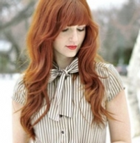 Hair Extensions red hair 