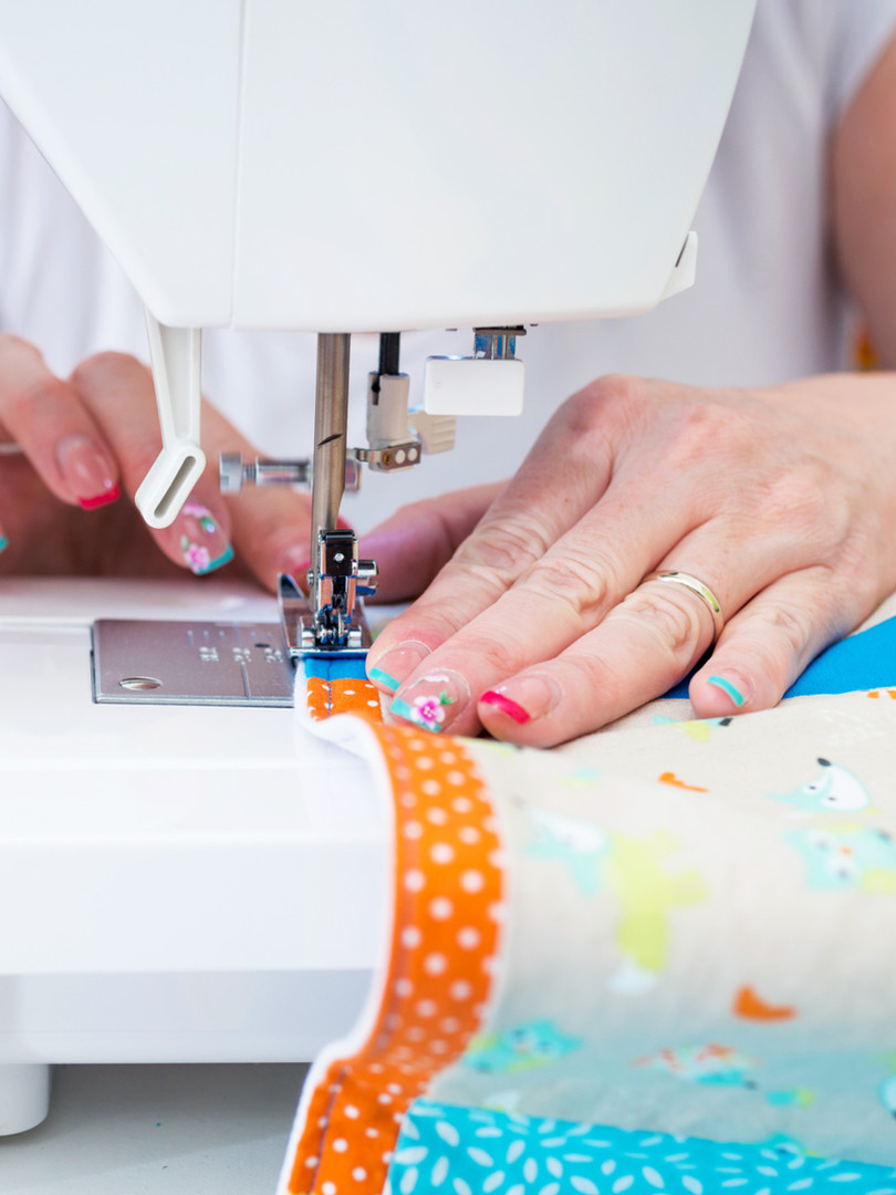 sewing blanket