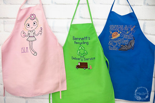 Kid's Activity Aprons