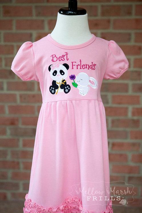 Infant, Toddler, or Child Dress (sleeveless, short,or long sleeve)