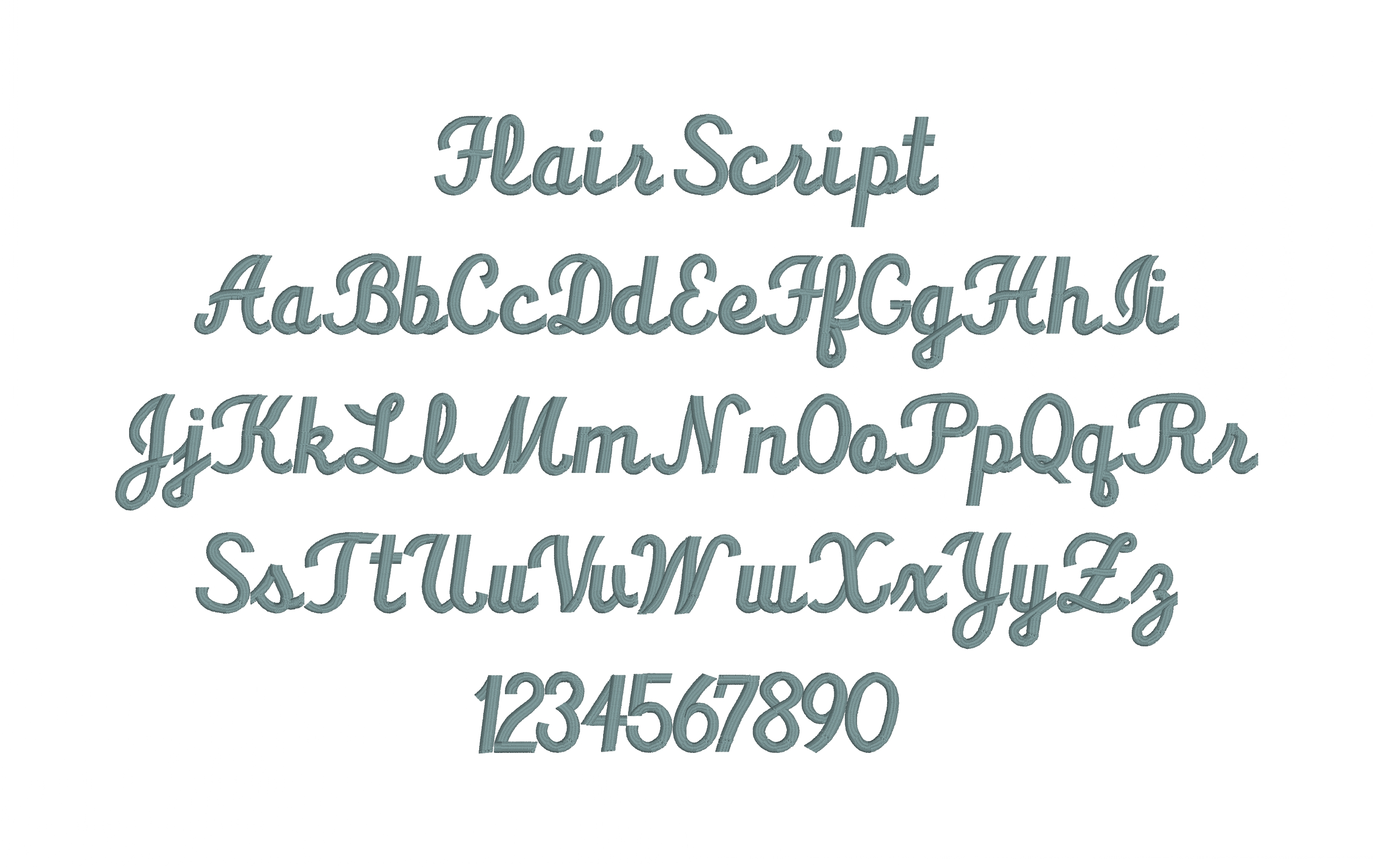 Flair Script