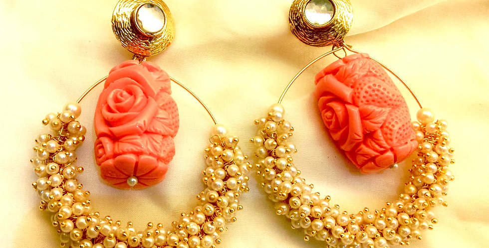 Traditional bollywood earrings
