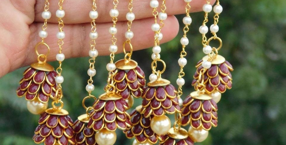 Bollywood traditional earrings