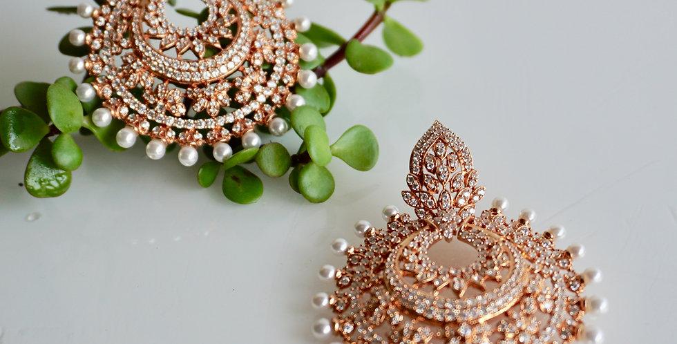 Faux Diamond Earrings
