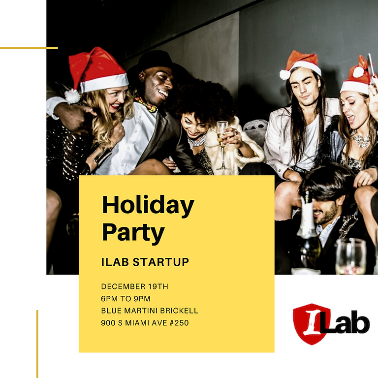 Holiday Party Ilab Startup