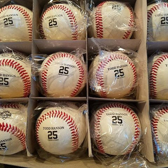 One Year Baseball Giveaway!