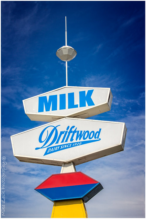 Driftwood Dairy Sign, El Monte, CA