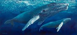 Whale Mural, Monterey, CA
