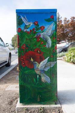 Utility Box Mural #4 Gilroy, CA