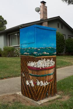 Utility Box Mural #5 Gilroy, CA
