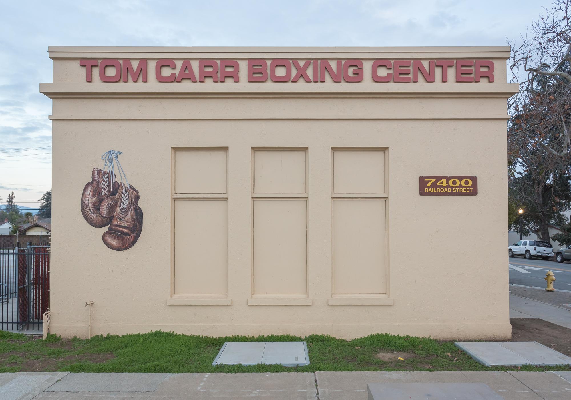Tom Carr Boxing Center Mural