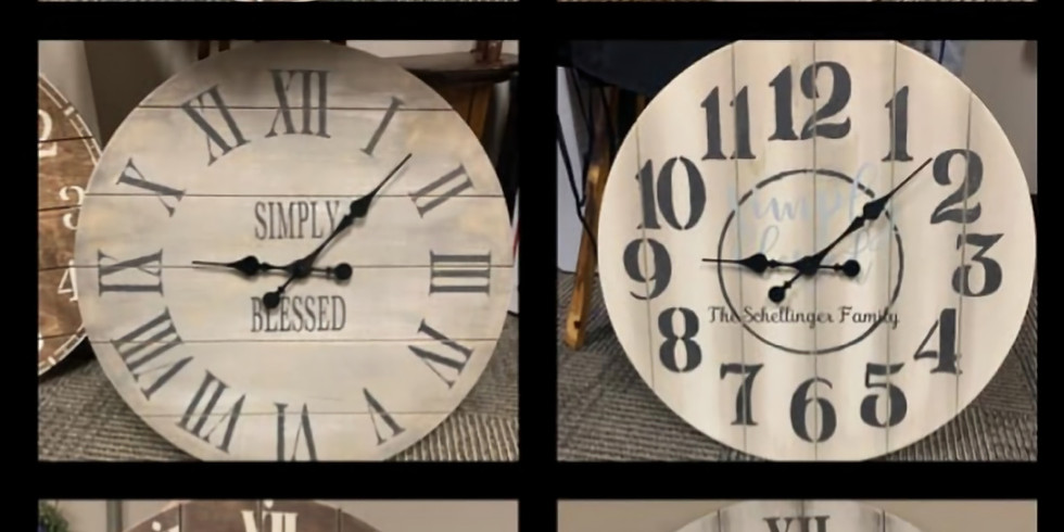 "24"" Clock Workshop"