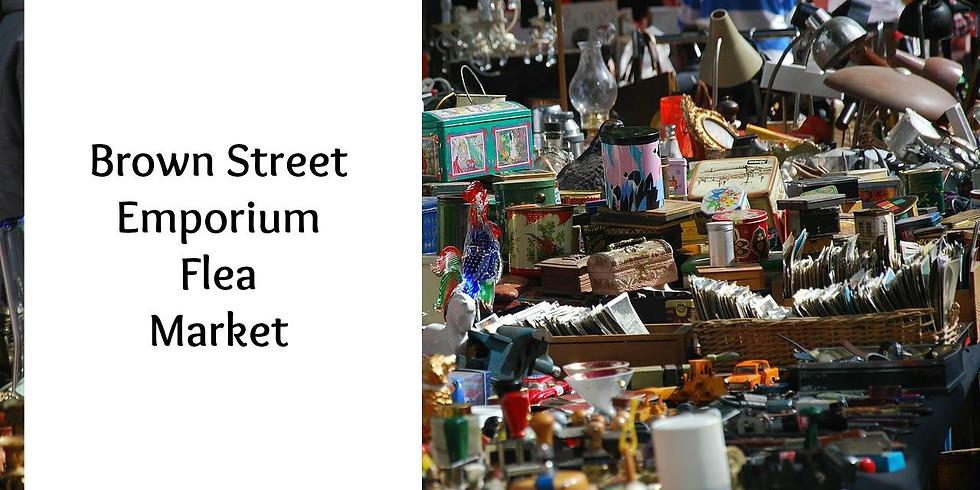 1st Annual Brown Street Emporium Flea Market