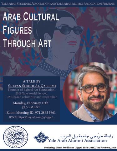 Arab Cultural Figures Through Art