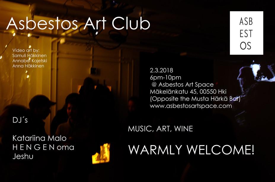Asbestos Art Club 2018 Vol 1. 2.3.2018