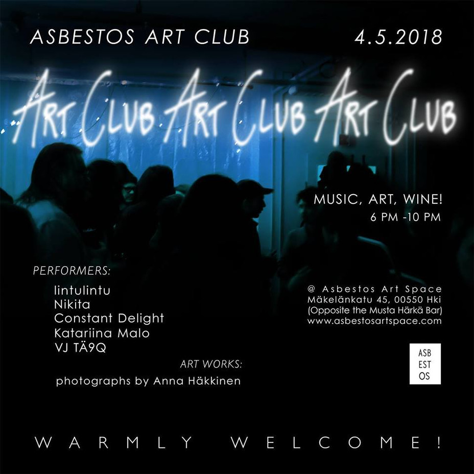 Asbestos Art Club 2018 Vol. 2  4.5.2018