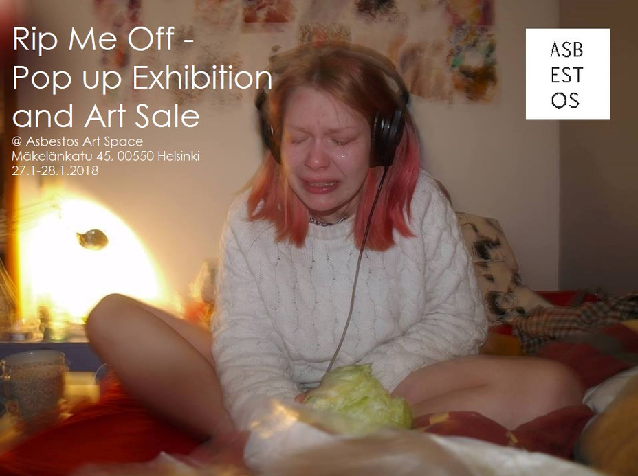 Rip Me Off - Pop up Exhibition and Art Sale