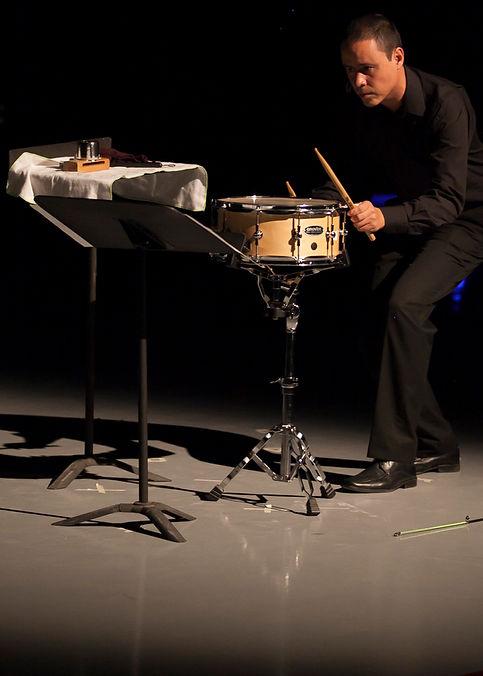 Concierto de percusión Jhon Ciro