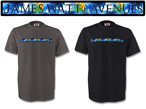 James Watt & the Avenues' Tee Shirt