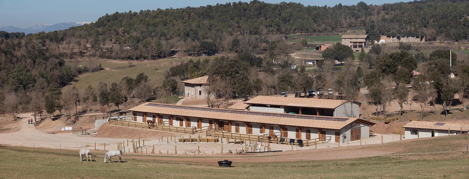 Centre d' entrenament de cavalls