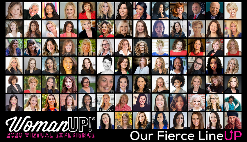 2020 WomanUP! Speakers- GROUP FINAL 2020