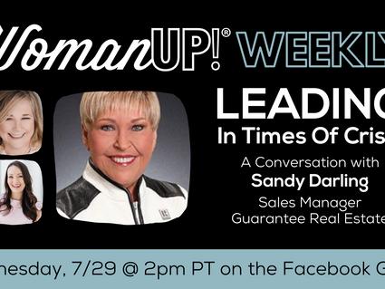 7-29 * Wisdom from Sandy Darling