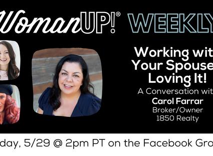 5-29 * Wisdom from Carol Farrar