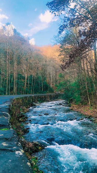 roadside waterway