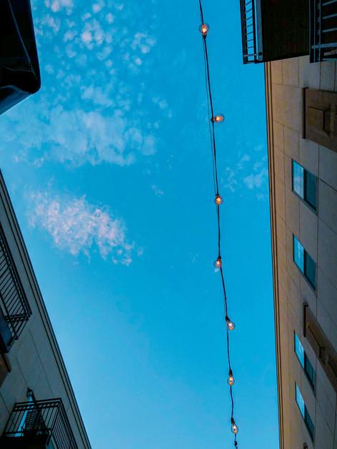 lights on 9th street