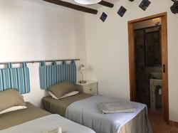 Pool bedroom with en-suite