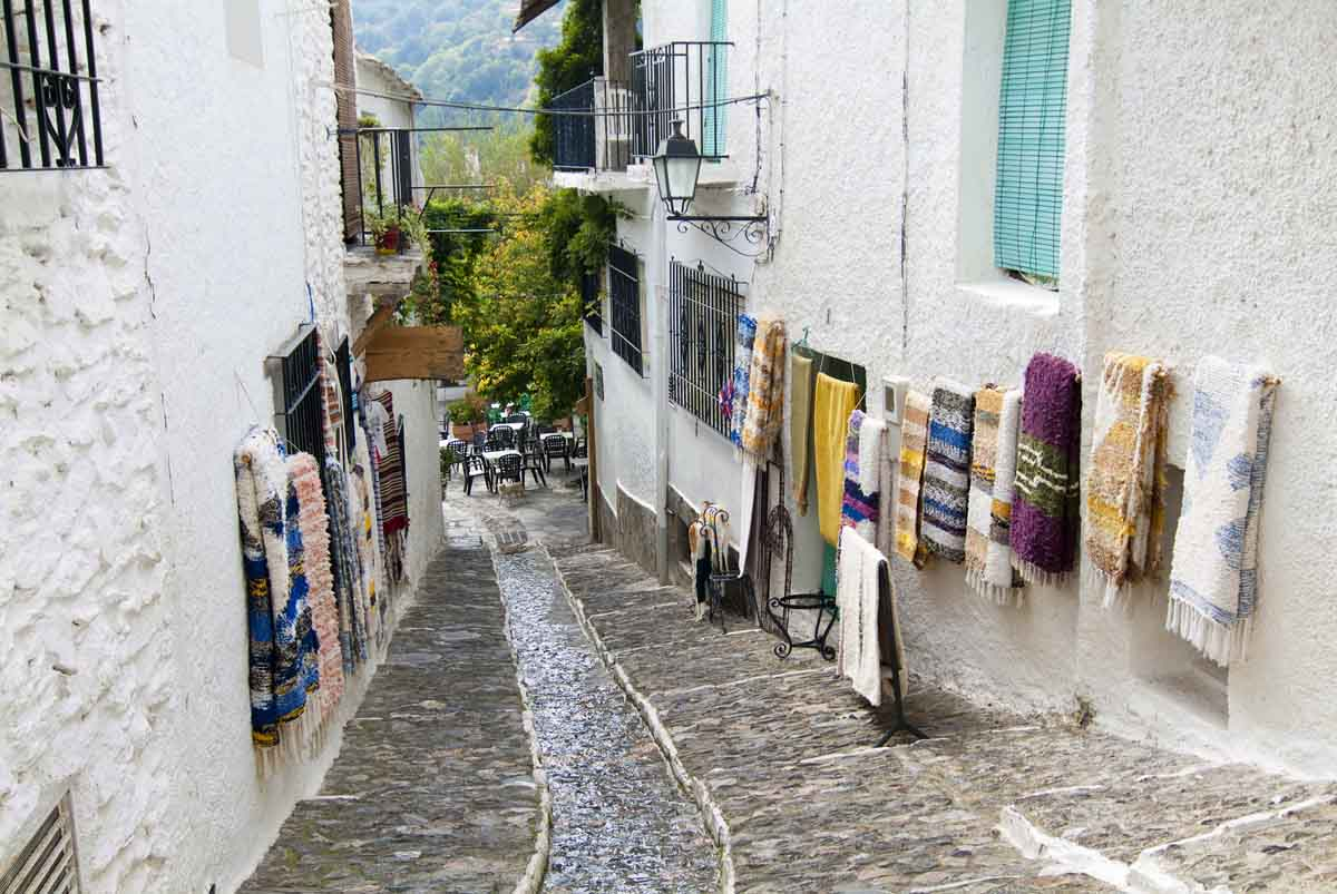 pampaneira - famous pueblos blancos