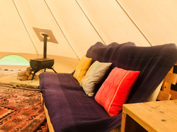 bell tent sofa