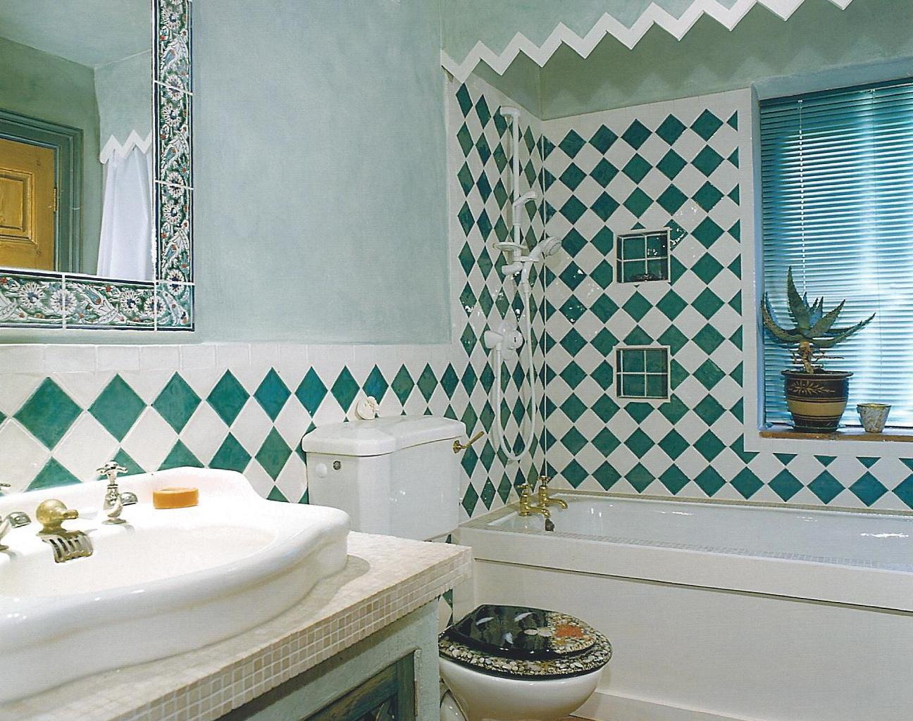 Healing room bathroom