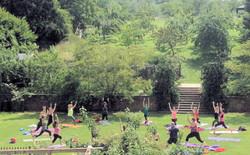 Yoga weekend July 17 2015