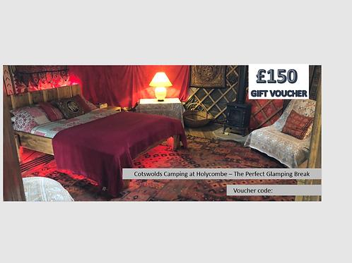 £150 Glamping Voucher