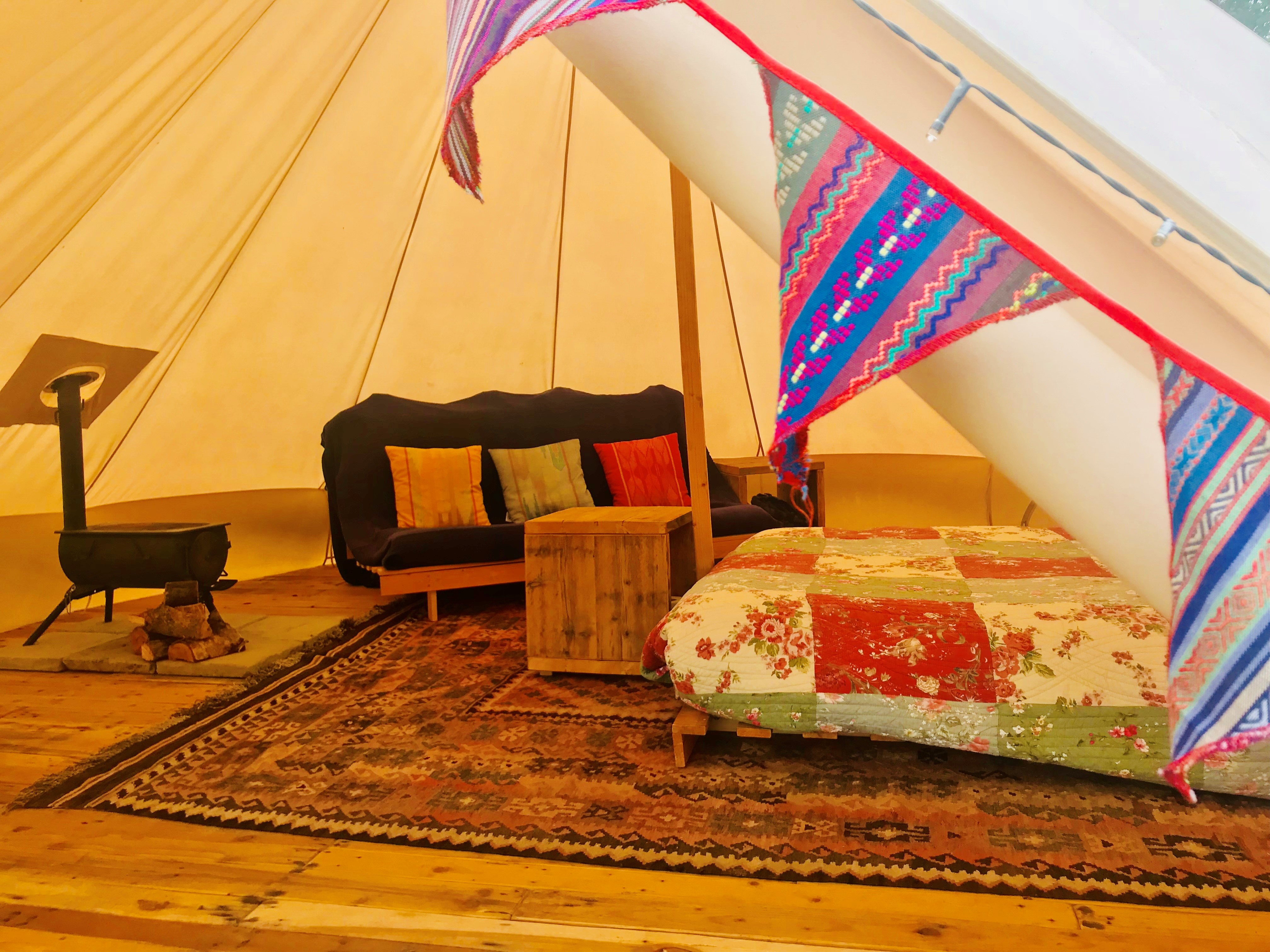 bell tent bunting 2