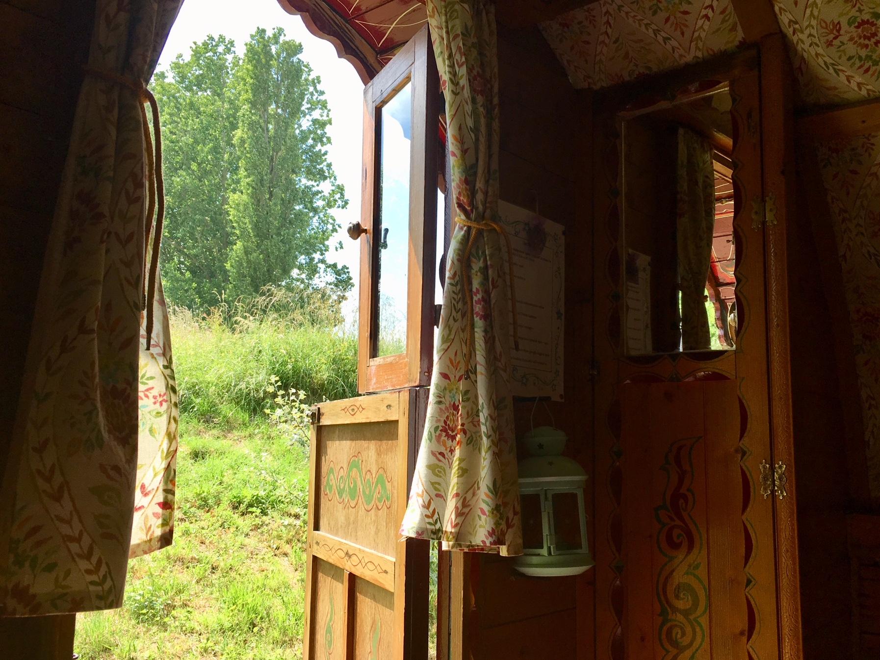 View from gypsy door 18