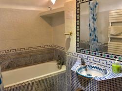 Main Bathroom with bath