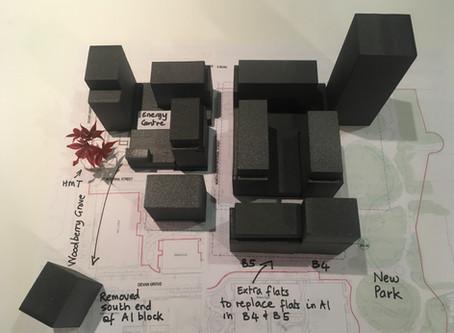 Phase 3 design option to retain the Happy Man Tree