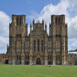 The ancient city of Wells