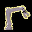 Vector Image of a robotic arm