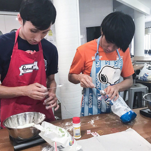 Blind Cooking Project