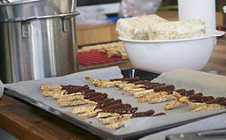 Picture of tempeh chocolate healthy brain snacks
